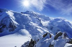 Alpinists in Mont Blanc
