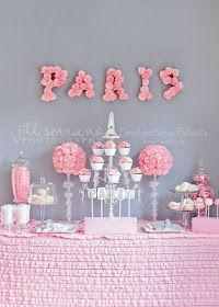 Paris dessert table