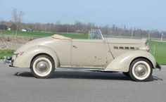 1937 Packard 115 C Convertible Coupe