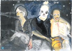 #IranianPainters Conformity By Mona Motaharian  2016 Medium: Acrylic on Cardboard Dimensions: 30*40 cm Location: Group Painting Exhibition, O Gallery, Tehran, Iran CopyRight: Fair Use هم رنگي از مونا مطهريان ١٣٩٥ تكنيك: اكريليك روي مقوا اندازه اثر: ٤٠*٣٠ سانتيمتر محل نگهداري اثر: نمايشگاه گروهي نقاشي، نگارخانه اُ، تهران، ايران حق تكثير: استفاده منصفانه