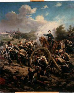 Episode de la bataille de Solférino, le 24 juin 1859