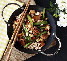 Snack Recipes, Dinner Recipes, Healthy Recipes, Snacks, Healthy Food, Wok, Good Food, Yummy Food, Asian Recipes