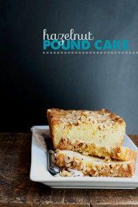 Recipe: Hazelnut Pound Cake