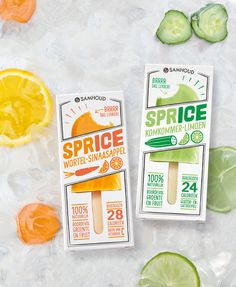 SPRICE Is the Refreshing Ice Treat You Need For Summer — The Dieline | Packaging & Branding Design & Innovation News