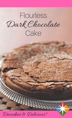 Flourless Dark Chocolate Cake Recipe~4 Eggland's Best Eggs (large) 8 ounces 53% cacao dark baking chocolate, coarsely chopped 3 tablespoons butter, cubed 1/3 cup plus 1/4 cup sugar, divided 1 1/2 teaspoons vanilla extract 1 container (2 1/2 ounces) prune baby food 1 teaspoon dark baking cocoa or baking cocoa 1/2 teaspoon confectioners' sugar