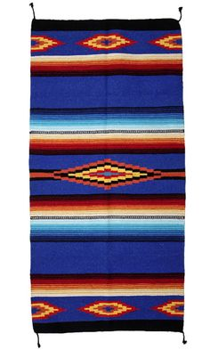 Our Saltillo Hawkeye All-Purpose Rugs are intricately woven with accents of bright colors. These weavings can be used as a wall hanging, area rug, table displays, and so much more. A beautiful addition to your home! SIZE: X X x Available in More Designs! Southwest Rugs, Unique Flooring, Traditional Rugs, Accent Rugs, Floor Rugs, Hawkeye, Bohemian Rug, Hand Weaving, Area Rugs