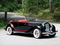 1935 Auburn 8 Supercharged Cabriolet