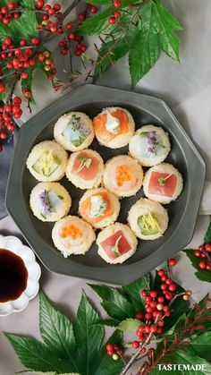 Sushi Recipes, Asian Recipes, Cooking Recipes, Healthy Recipes, Good Food, Yummy Food, Food Decoration, Cafe Food, Aesthetic Food