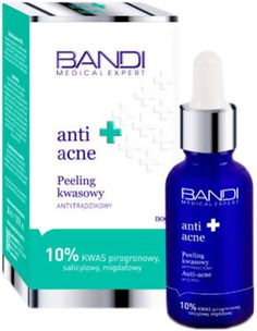 BANDI, Medical Anti Acne, peeling kwasowy antytrądzikowy, 30ml  https://www.aptekagemini.pl/bandi-medical-anti-acne-peeling-kwasowy-antytradzikowy-30ml.html