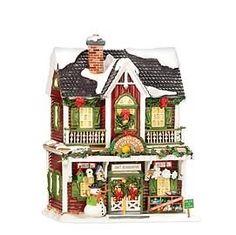 Dept 56 - Snow Village - Christmas Crafts Cottage  | eBay