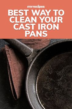 Iron Cleaner, Cast Iron Dutch Oven, Cast Iron Cookware, Ocd, Wine Recipes, It Cast, Cleaning, Baking, Tips