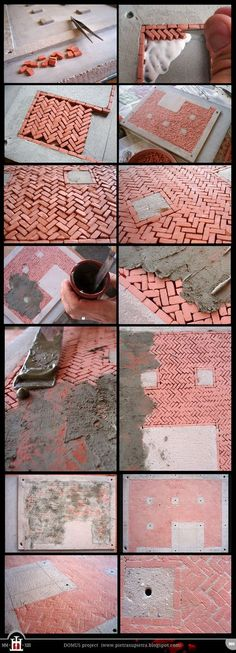 projeto Domus 2: tijolos miniatura caseiros por Wernerio no DeviantArt