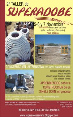 Bioconstruction with superadobe