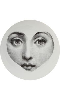 Fornasetti Theme & Variations Decorative Plate #041