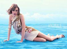 cool Karlie Kloss para Animale Verão 2014 por Henrique Gendre   [Full Campaign]
