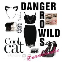 """""""Cat"""" by asealalesachra ❤ liked on Polyvore featuring River Island and GUESS"""