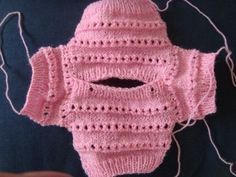 Ideas crochet baby girl outfits doll dresses for 2019 Knitting Dolls Clothes, Crochet Baby Clothes, Knitted Dolls, Knitted Hats, Barbie Clothes Patterns, Baby Pullover, Barbie Dress, Doll Dresses, Diy Clothes