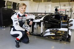 Susie Wolff will be first to drive new Williams #F1 #Formula1 #F1Online