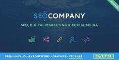 Seo Company - Seo, Digital Marketing, Social Media WordPress Theme  -  http://themekeeper.com/item/wordpress/seo-company-seo-wordpress-theme