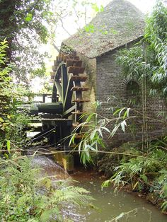 There was a watermill we visited in Wales, I think