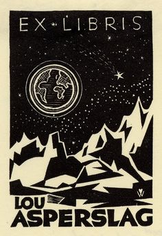 Peter Wolbrand, 1952, Ercolini Bookplate Collection