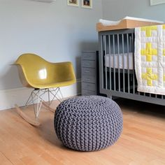 Nursery Tour, Gus' room. (via Deuce Cities Hen House)