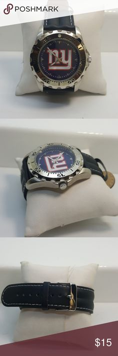 New york giants game time brand watch New york giangs game time watch with lether band Game Time Accessories Watches