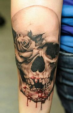Tattoo Artist - John Maxx i like this but i would keep all the teeth and no blood