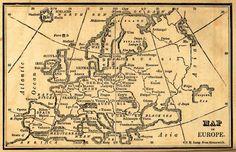vintage map for background from Free Vintage Digital Stamps