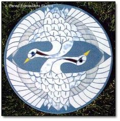 Free Patterns Mosaic Stepping Stones | Stained glass mosaic art, mosaic stepping stones, mosaic tiles
