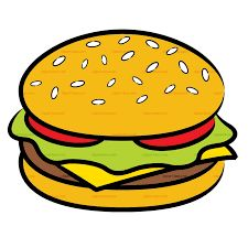Risultati immagini per hamburger clipart