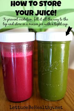 Beginners guide for juicing