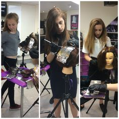 Colour work shop in cutting club. Learning foul placement. www.experienceeducation.acdademy