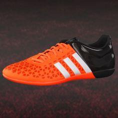 a1042ff685e213 adidas ACE 15.3 IN Fußball Hallenschuh orange schwarz  hallenfußballschuhe   adidas