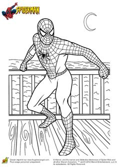 coloriage spiderman colouring pages for kidskids coloringcolouring sheetscoloring bookfree coloring - Spiderman Coloring Pages Kids