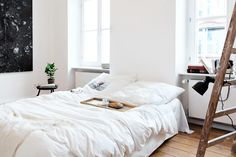 fantastic frank, Greifswalder strasse 207, interiors, home, apartment, sunday sanctuary, oracle fox, Minimalist Apartment, Bright, bedroom