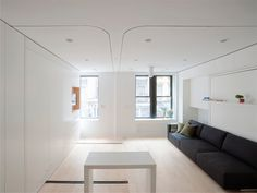 Movable walls NYC Apartment
