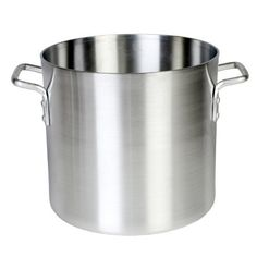 Thunder Group ALSKSP002, 12-Quart Aluminum Stock Pot, Commercial Heavy Gauge Stockpot