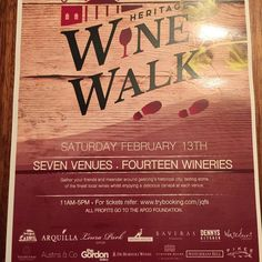 We're super excited to be taking part in the Geelong heritage wine walk tomorrow - with the weather looking 10/10 we couldn't think of a better way to spend your day!  #geelong #winewalk #wineries #wine #customshouse #geelongwaterfront #waterfront #sunshine by customshousetaverna http://ift.tt/1JtS0vo