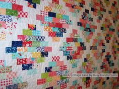 Brick Cottage Lane by Busy Hands Quilts.