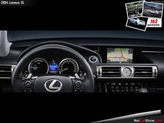 Lexus IS - Interior, 2014