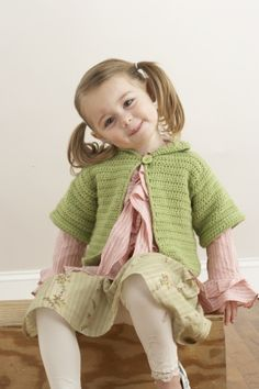 Short And Sweet Child's Cardigan