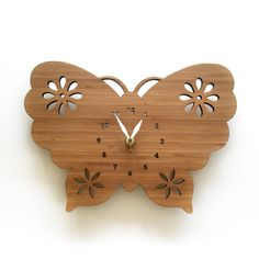 butterfly-clock-desin-ideas