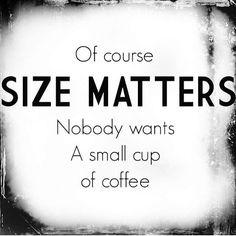✿⊱ Size matters..