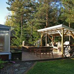 Gazebo, Pergola, Pallets, Garden Ideas, Cottage, Outdoor Structures, Home, Kiosk, Pavilion