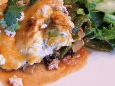 Low Carb Hatch Chile Pepper Lasagne