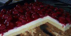 Kirsch-Pudding-Blechkuchen | Ein Kochmeister Rezept