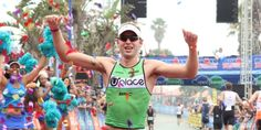Bart Aernouts wins IRONMAN 70.3 South Africa. Photo by Craig Muller.