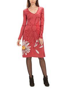 Desigual Women's Meritxell Long Sleeve Dress, Borgona, Size 12 (Manufacturer Size:Medium) Desigual http://www.amazon.co.uk/dp/B00JF3LYEO/ref=cm_sw_r_pi_dp_-mq1ub122BBTQ