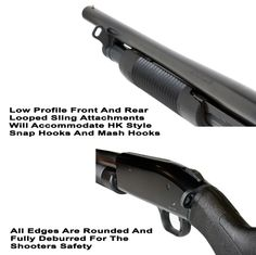 Mossberg 500 Front And Rear Looped Sling Attachments - need the rear attachment only